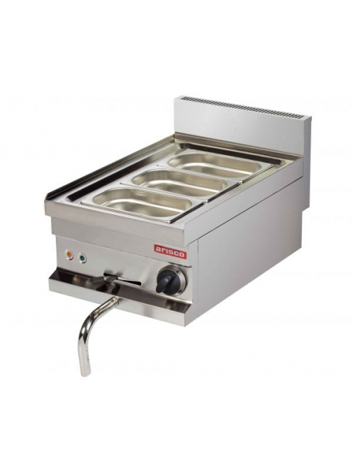 Bain marie electric 400 x 600 x 265 mm Arisco EB604