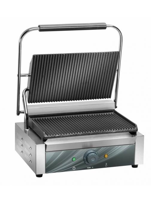 Contact grill 1 zona  340 x 230 mm Amitek PG35R