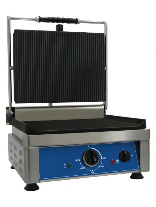 Contact grill 1 zona 360 x 270 mm Amitek PG37L