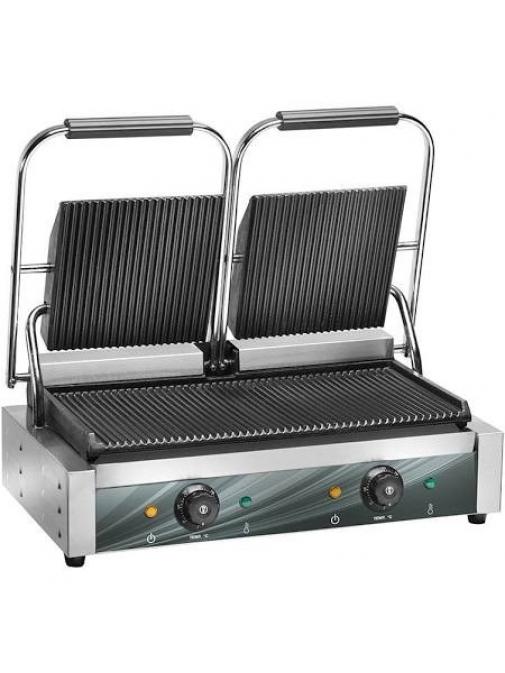 Contact grill 2 zone 475 x 230 mm Amitek PG50L